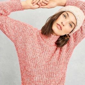 NWT J.Crew Mock Neck Donegal Sweater